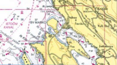 Horvat Eszak Adria Triest Zadar Hajozasi Terkep Szett Naval