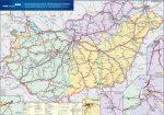 Magyarország vasúti árufuvarozási térképe - Stiefel