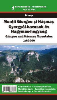 Gyergyói-havasok és Hagymás-hegység turistatérkép - Dimap