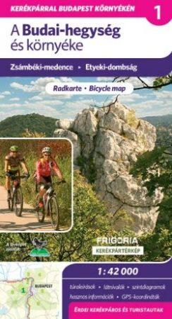 Budai-hegység és környéke kerékpáros és turistatérkép - Frigoria