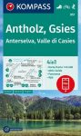 WK 057 - Antholz - Gsies / Anterselva - Valle di Casies turistatérkép - KOMPASS