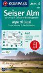 WK 067 - Seiser Alm / Alpe di Sius turistatérkép - KOMPASS