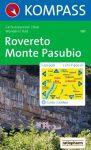 WK 101 - Rovereto-Monte Pasubio turistatérkép - KOMPASS
