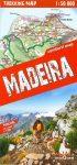 Madeira trekking térkép - Terra Quest