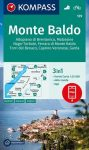 WK 129 - Monte Baldo turistatérkép - KOMPASS