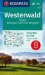 WK 847 - Westerwald  2 részes turistatérkép - KOMPASS