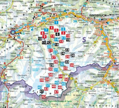 Otztal Otztaler Alpen Stubaier Alpen Ro 4461 Utikonyv