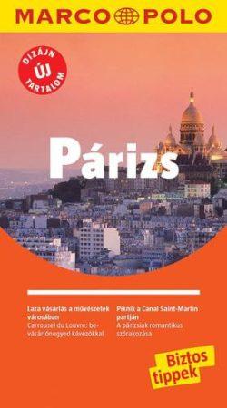Párizs útikönyv - Marco Polo