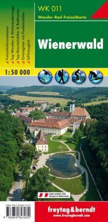 Wienerwald turistatérkép - f&b WK 011