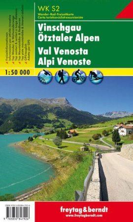 Vinschgau – Ötztaler Alpen turistatérkép - f&b WKS 2