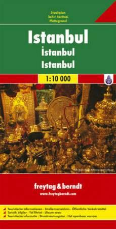 Isztambul várostérkép - f&b PL 500