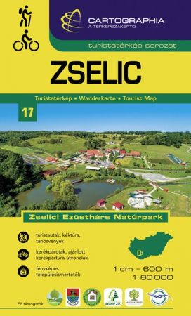 Zselic turistatérkép - Cartographia
