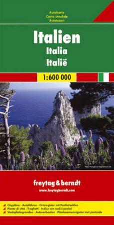 Olaszország autótérkép - f&b AK 0616