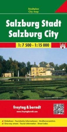 Salzburg teljes várostérkép - f&b PL 18