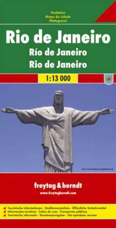 Rio de Janeiro várostérkép - f&b PL 503