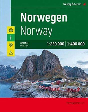 Norvégia atlasz - f&b