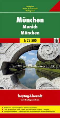 München teljes várostérkép - f&b PL 26