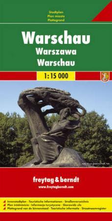 Varsó várostérkép - f&b PL 113