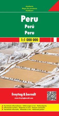 Peru autótérkép - f&b AK 199