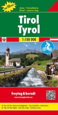 OER 77 - Tirol Top 10 Tipp autótérkép - f&b