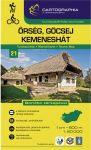 Őrség, Göcsej, Kemeneshát turistatérkép - Cartographia