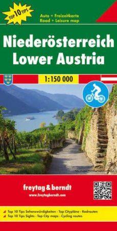 OER 11 - Alsó-Ausztria Top 10 Tipp autótérkép - f&b