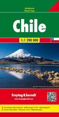Chile autótérkép - f&b AK 140