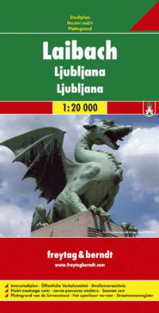 Ljubljana várostérkép - f&b PL 53