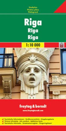 Riga várostérkép - f&b PL 102
