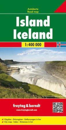 Izland autótérkép - f&b AK 9701