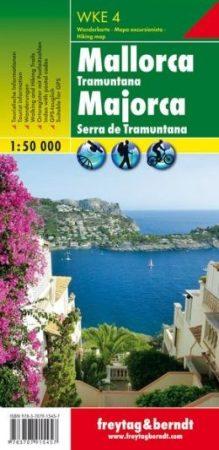 Mallorca (Tramuntana) turistatérkép - f&b WKE 4
