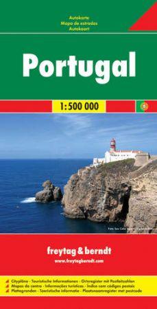 Portugália autótérkép - f&b AK 98