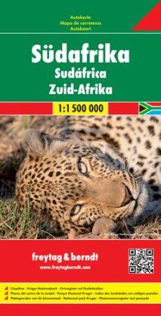Dél-Afrikai Köztársaság autótérkép - f&b AK 211