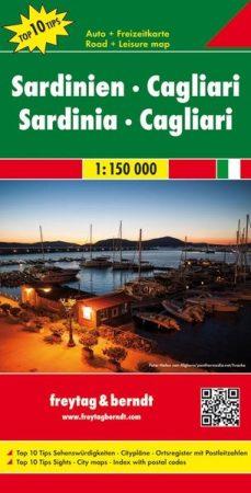 No 6. - Szardínia és Cagliari Top 10 Tipp autótérkép - f&b AK 0617
