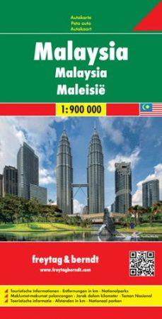 Malajzia autótérkép - f&b AK 185