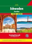 Svédország atlasz - f&b
