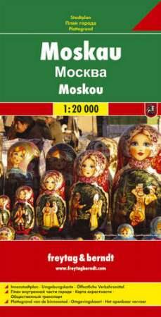 Moszkva várostérkép - f&b PL 107