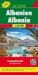 Albánia autótérkép - f&b AK 9502