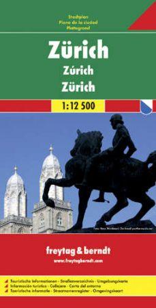 Zürich várostérkép - f&b PL 67