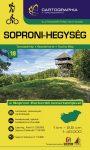 Soproni-hegység turistatérkép - Cartographia