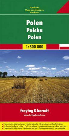 Lengyelország autótérkép - f&b AK 1201