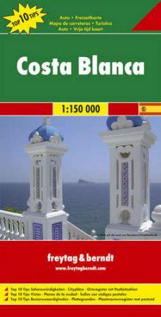 Costa Blanca autótérkép - f&b AK 0521
