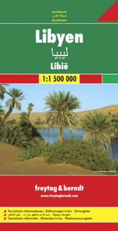 Líbia autótérkép - f&b AK 115
