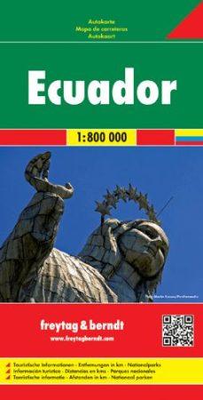 Ecuador és a Galapagos-szigetek autótérkép - f&b AK 198