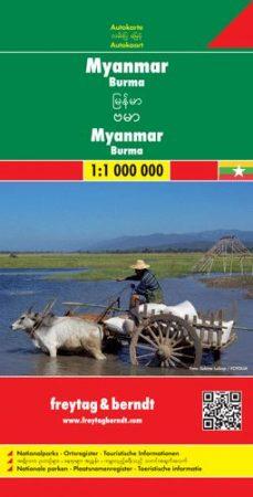 Myanmar (Burma) autótérkép - f&b AK 182