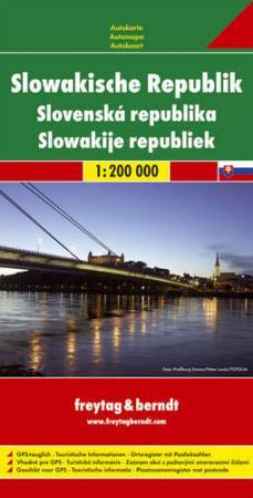 Szlovákia autótérkép - f&b AK 7501