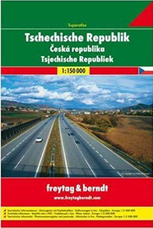 Csehország atlasz - f&b