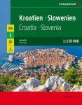 Horvátország és Szlovénia szuperatlasz - f&b HS SP