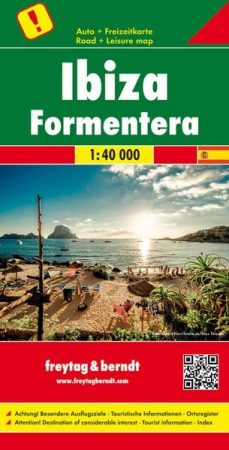 Ibiza autótérkép - f&b AK 0528