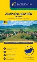 Zempléni-hegység (déli rész) turistatérkép - Cartographia